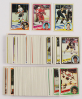 1984-85 Topps Complete Set of (165) Hockey Cards with #49 Steve Yzerman RC, #13 Dave Andreychuk SP RC, #96 Pat LaFontaine SP RC at PristineAuction.com