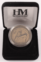 RMS Titanic 100th Anniversary LE Commemorative Coin with Authentic Coal From Titanic Wreckage at PristineAuction.com