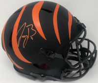 Joe Burrow Signed Bengals Eclipse Alternate Full-Size Authentic Speed Helmet (Fanatics Hologram) at PristineAuction.com