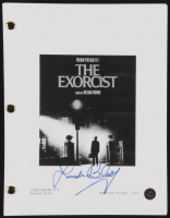 "Linda Blair Signed ""The Exorcist"" Movie Script (Legends COA) at PristineAuction.com"