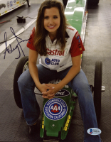Ashley Force Hood Signed 8x10 Photo (Beckett COA) at PristineAuction.com