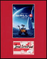Fred Willard Signed WALL-E 8x10 Custom Matted Photo Display (JSA COA) at PristineAuction.com