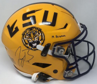 "Joe Burrow Signed LSU Tigers Full-Size Authentic On-Field Speed Flex Helmet Inscribed ""19 Heisman"" (Fanatics Hologram) at PristineAuction.com"