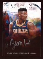 Zion Williamson 2019-20 Panini Origins Origins Autographs Silver Ink #1 at PristineAuction.com
