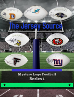 The Jersey Source Mystery Box - Autographed Logo Football Series L5 at PristineAuction.com