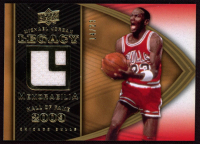 Michael Jordan 2008-09 Upper Deck Michael Jordan Legacy Collection Memorabilia #MJ61 at PristineAuction.com