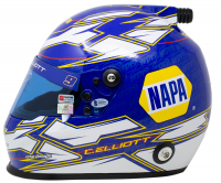 Chase Elliott Signed NASCAR NAPA Full-Size Helmet (Beckett COA, Elliott COA, & PA COA) at PristineAuction.com