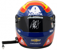 "Alex Bowman Signed NASCAR Axalta ""First Win"" Full-Size Helmet (Beckett COA, Hendrick COA, & PA COA) at PristineAuction.com"