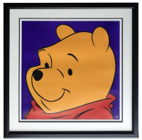 Walt Disney's Winnie the Pooh 26x26 Custom Framed Photo Display at PristineAuction.com