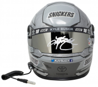 Kyle Busch Signed 2019 NASCAR Snickers - 500th Start - Full-Size Helmet (Beckett COA & PA COA) at PristineAuction.com