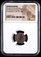 Constantius II - AD 337-361 - Bi Half-Centenionalis - Roman Empire Bronze Coin (NGC Encapsulated) at PristineAuction.com