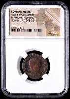 Licinius I - AD 308-324 - Bi Reduced Nummus - Roman Empire Bronze Coin (NGC Encapsulated) at PristineAuction.com