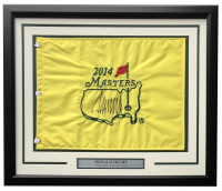 Donald Trump Signed 2014 Masters 22x27 Custom Framed Master's Pin Flag Display (PSA LOA) at PristineAuction.com