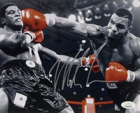 Mike Tyson Signed 8x10 Photo (JSA COA) at PristineAuction.com