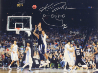 "Kris Jenkins Signed Villanova Wildcats 16x20 Photo Inscribed ""The Shot"" with Hand Drawn Diagram (JSA COA) at PristineAuction.com"
