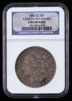1882-CC Morgan Silver Dollar - Carson City Hoard (NGC Circulated) at PristineAuction.com