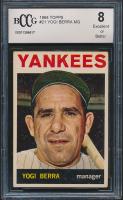 Yogi Berra 1964 Topps #21 (BCCG 8) at PristineAuction.com