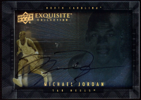 Michael Jordan 2013-14 Exquisite Collection Dimensions Autographs #DJN at PristineAuction.com