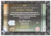 Michael Jordan 2013-14 Exquisite Collection Dimensions Autographs #DJN at PristineAuction.com