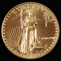 1987 $50 Fifty Dollar Liberty 1 Oz Gold Coin at PristineAuction.com