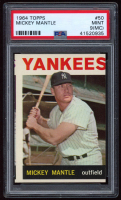 Mickey Mantle 1964 Topps #50 (PSA 9) (MC) at PristineAuction.com