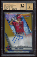 Mike Trout 2019 Bowman's Best Best of '19 Autographs #B19MT (BGS 9.5) at PristineAuction.com