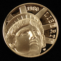 1986-W Commemorative Statue of Liberty $5 Five-Dollar Gold Coin at PristineAuction.com