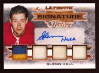 Glenn Hall 2019-20 Leaf Ultimate Ultimate Signature Relics #USRGH1 / 15 at PristineAuction.com