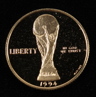 1994-W Commemorative World Cup $5 Five-Dollar Gold Coin at PristineAuction.com
