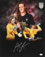Alyssa Naeher Signed Team USA 16x20 Photo (JSA COA) at PristineAuction.com
