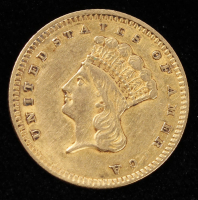 1856 $1 Dollar Gold Coin at PristineAuction.com