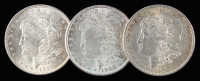 Lot of (3) Morgan Silver Dollars with 1879, 1900, & 1921 at PristineAuction.com