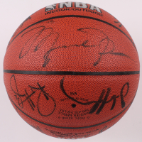 1996-97 Chicago Bulls Championship Basketball Team-Signed by (12) with Michael Jordan, Scottie Pippen, Dennis Rodman, Robert Parish (JSA LOA) at PristineAuction.com