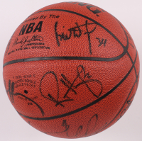 1996-97 Chicago Bulls Championship Basketball Team-Signed by (12) with Michael Jordan, Scottie Pippen, Dennis Rodman, Robert Parish (JSA LOA) at PristineAuction.com