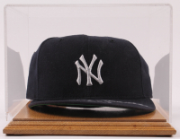 "Mickey Mantle Signed LE Yankees Fitted Hat with Display Case Inscribed ""No. 7"" (UDA COA) at PristineAuction.com"