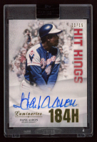 Hank Aaron 2019 Topps Luminaries Home Run Kings Autographs #HRKHA at PristineAuction.com