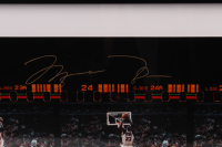 Michael Jordan Signed LE Bulls 16.5x41 Custom Framed Photo (UDA COA) at PristineAuction.com
