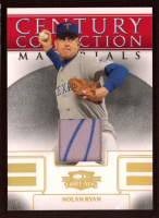 Nolan Ryan 2008 Donruss Threads Century Collection Materials Holo Gold #CCM11 / 1 at PristineAuction.com