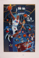 "Michael Jordan Signed LE 1996 ""Space Jam"" 27x39.5 Poster (UDA Hologram) at PristineAuction.com"