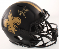 Cameron Jordan Signed Saints Full-Size Authentic On-Field Eclipse Alternate Speed Helmet (JSA COA) at PristineAuction.com