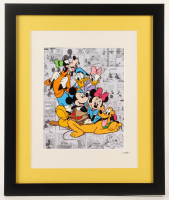 Walt Disney Characters 16x19 Custom Framed Hand-Painted Animation Serigraph Display at PristineAuction.com