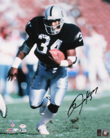 Bo Jackson Signed Raiders 16x20 Photo (PSA COA, Beckett COA & Jackson Hologram) at PristineAuction.com