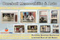 Cardboard Hits Baseball Memorabilia & Auto Mystery Box Series 2 at PristineAuction.com