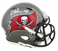 Devin White Signed Buccaneers Speed Mini Helmet (Beckett COA) at PristineAuction.com