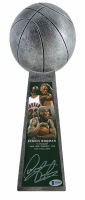 "Dennis Rodman Signed Bulls 14"" Championship Basketball Trophy (Beckett COA) at PristineAuction.com"