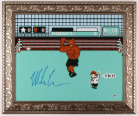 "Mike Tyson Signed ""Punch-Out!!"" 20x24 Custom Framed Photo Display (Beckett Hologram) at PristineAuction.com"