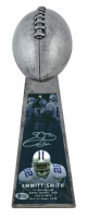 """Emmitt Smith Signed 15"""" Championship Trophy (Beckett COA) at PristineAuction.com"""