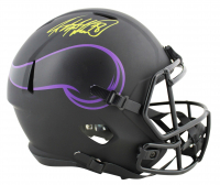 Adrian Peterson Signed Vikings Full-Size Eclipse Alternate Speed Helmet (Beckett COA) at PristineAuction.com