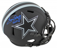 "Tony Dorsett Signed Cowboys Eclipse Alternate Speed Full Size Helmet Inscribed ""HOF 94"" (Beckett COA) at PristineAuction.com"