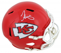 Tyreek Hill Signed Chiefs Full-Size Speed Helmet (Beckett COA) at PristineAuction.com